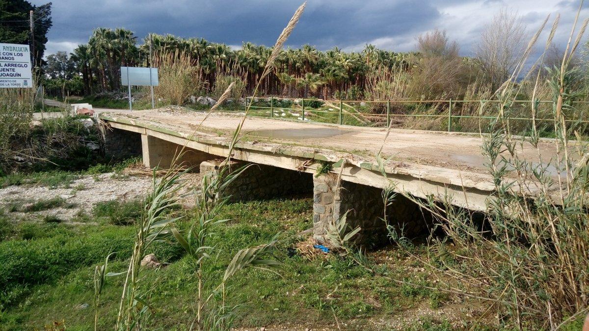 El no puente de San Joaquín. (vídeo)